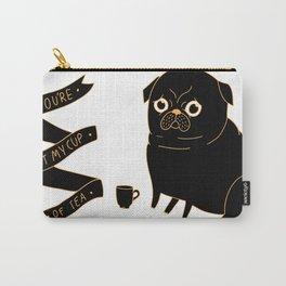 Tea Pug Carry-All Pouch