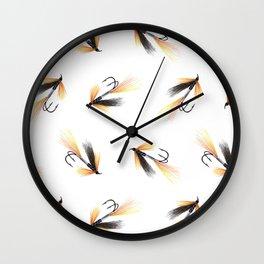 Ally's Cascade Shrimp fishing fly Wall Clock