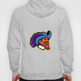 Cavalier Head Mascot Hoody