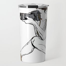 Photograph in the making Travel Mug