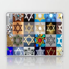 Star of David Montage Laptop & iPad Skin