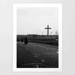 Road Tripping Art Print