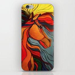 Wild Horse Breaking Free Southwestern Style iPhone Skin