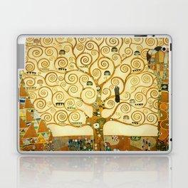 Gustav Klimt The Tree Of Life Laptop & iPad Skin