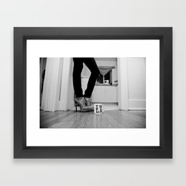 LA Lady Framed Art Print