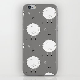 Funny sheep iPhone Skin
