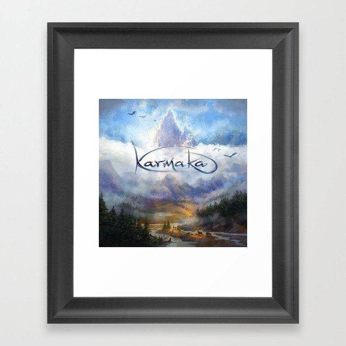 Karmaka Box Art Framed Art Print