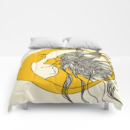 Sun and Moon Comforters