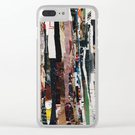 partisan paper match 72 Clear iPhone Case