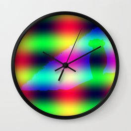 Lonely cow - as variation ... Wall Clock