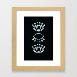 ::All Seeing Eye:: Framed Art Print