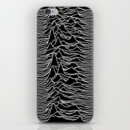 Joy Division - Unknown Pleasures iPhone Skin