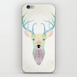 white deer iPhone Skin