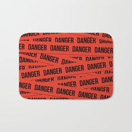 Danger Bath Mat