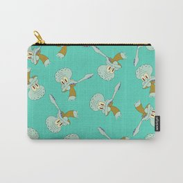 Squidward Dab Carry-All Pouch