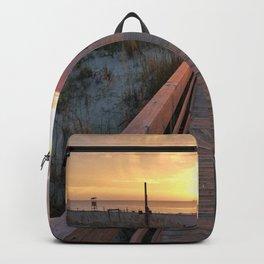 Good Morning Tybee Island Backpack