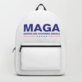 MAGA: Morons Are Governing America Design Backpack
