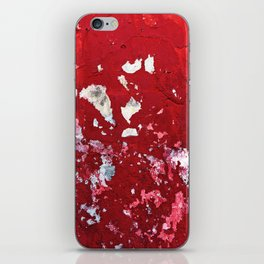 Red Chips iPhone Skin