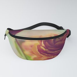Painted Ranunculus Fanny Pack