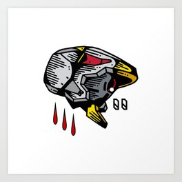 Unit-00 Art Print