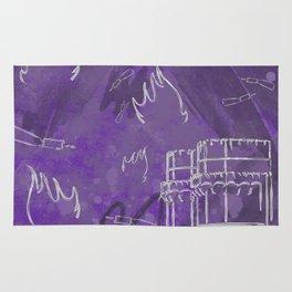 A la luna de Valencia - Purple Rug