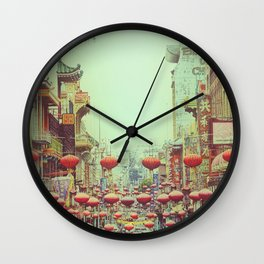 Down with Chinatown Wall Clock