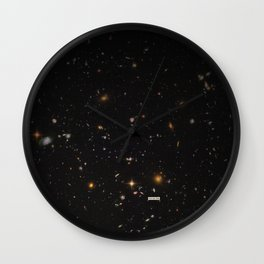 THE UNIVERSE - Space | Time | Stars | Galaxies | Science | Planets | Past | Love | Design Wall Clock