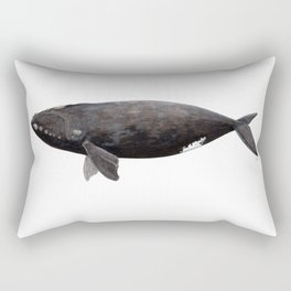 Northern right whale (Eubalaena glacialis) Rectangular Pillow