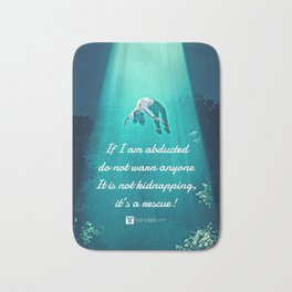 Abduction Bath Mat