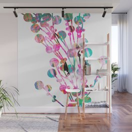 Sprig neon Wall Mural