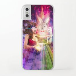 The Magic Show Clear iPhone Case