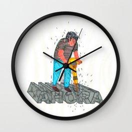 Ahora Wall Clock