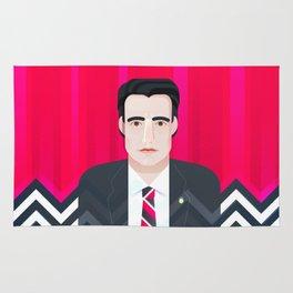 Dale Cooper | Twin Peaks Rug