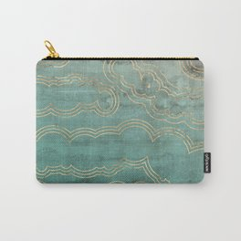 Mint Marble Carry-All Pouch