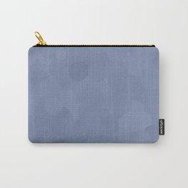 Stonewash Bubble Dot Color Accent Carry-All Pouch
