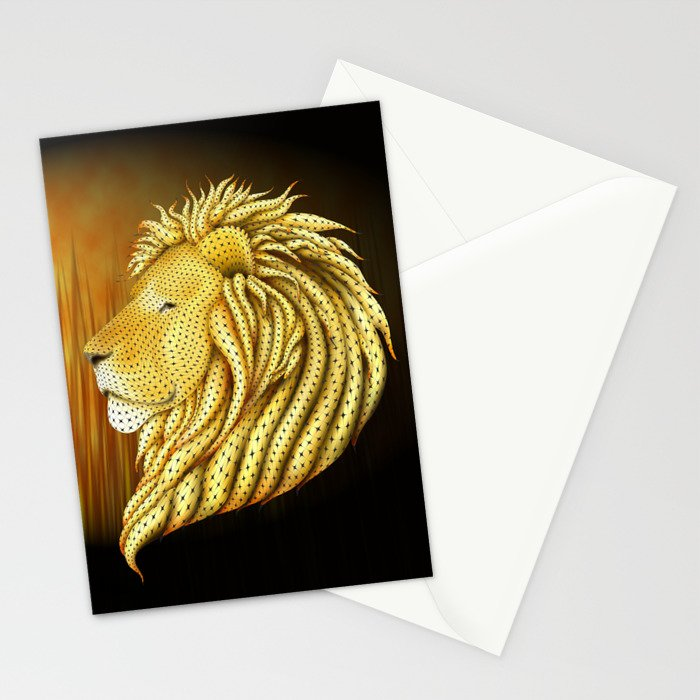 Leo's Pride Stationery Cards