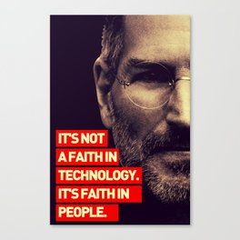 Office SteveJobs Quote Canvas Print