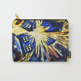 Tardis By Van Gogh - Doctor Who Carry-All Pouch