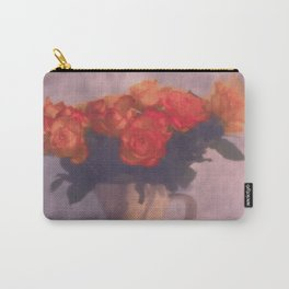 Milk jar and roses Carry-All Pouch