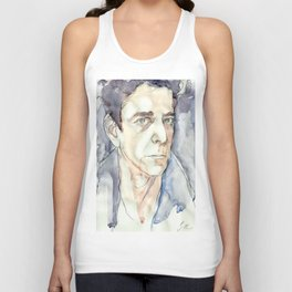 Lou Reed Unisex Tank Top