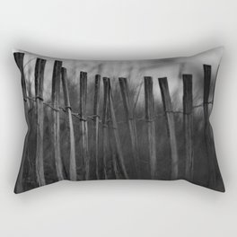 Dune Fence Rectangular Pillow