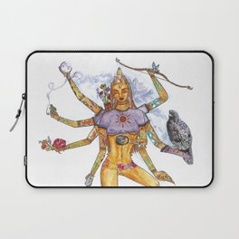 Modern Goddess Tools - Sexy Eight Armed Blonde Laptop Sleeve