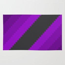 Pixel Grape Juice Dreams - Purple Rug