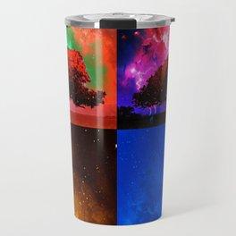 Magic Space Trees I Travel Mug