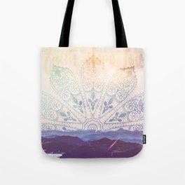 Boho Mountains  Tote Bag
