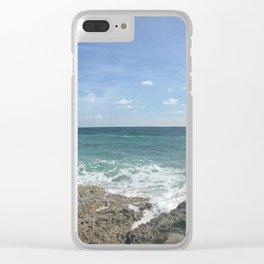 Cozumel Beach Clear iPhone Case