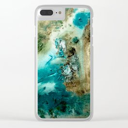 Acrylic Mediterranean Clear iPhone Case