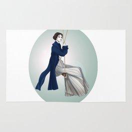 Fashion Illustration - Pride & Prejudice Rug