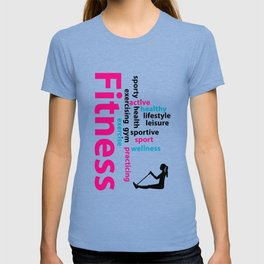 Fitness words T-shirt