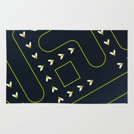 Fly Trap Rug